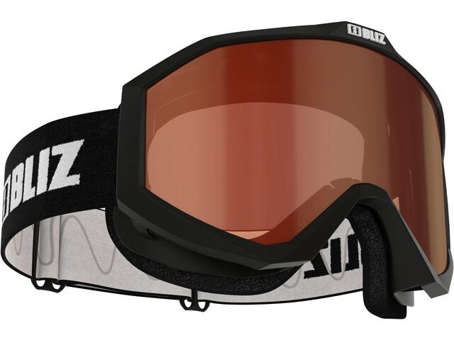 Bliz Liner Gafas Lentes Sencillas, negro/blanco
